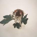 Aline Kokinopoulos, la regina della vigna, anello