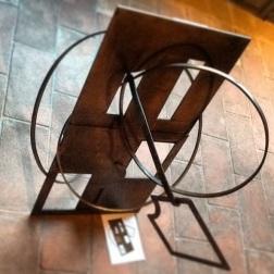 Annamaria Iodice_ Buco esistenziale_ scultura