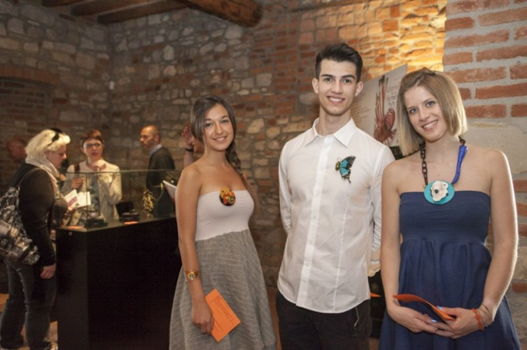 Gioielli in Fermento 2014 #wearing intensities (Starrabba and Chmielewski brooches, Münzker necklace)