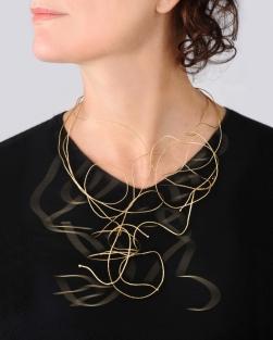 Patrizia Bonati, Giallo, dorato, vivo, fresco, necklace