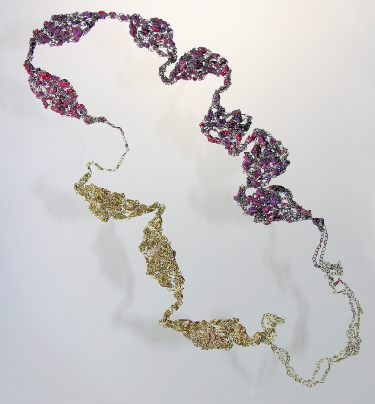 Liana Pattihis - Flow-Fileri necklace 2014