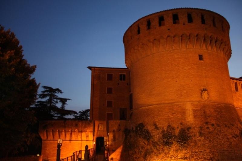 Dozza, Rocca Sforzesca sede dell'Enoteca Regionale Emilia Romagna