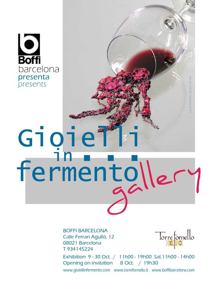 Gioielli in Fermento #gallery - at Boffi Barcelona Showroom - OffJOYA October 2014