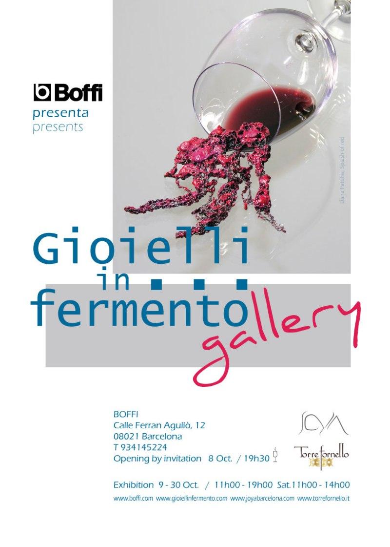 Gioielli in Fermento #gallery da Boffi Barcelona