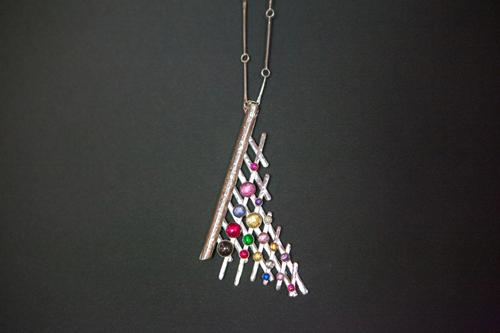 Chiara Lucato, Life in the vine, necklace