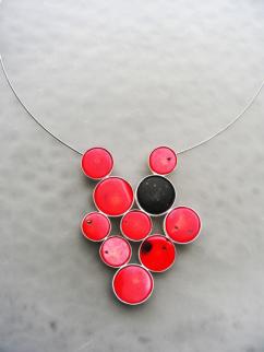 Margareta Niel, Simply Red, necklace