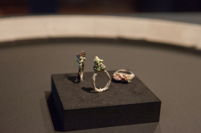 Violaine Ulmer, Untitled, rings