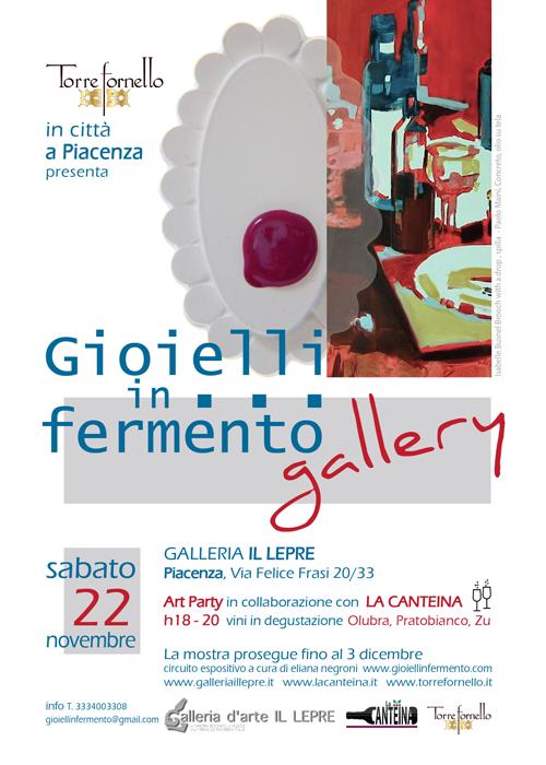 Gioielli in Fermento #gallery a Piacenza - novembre 2014