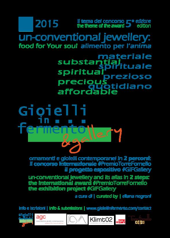 Gioielli in Fermento 2015 un-conventional jewellery