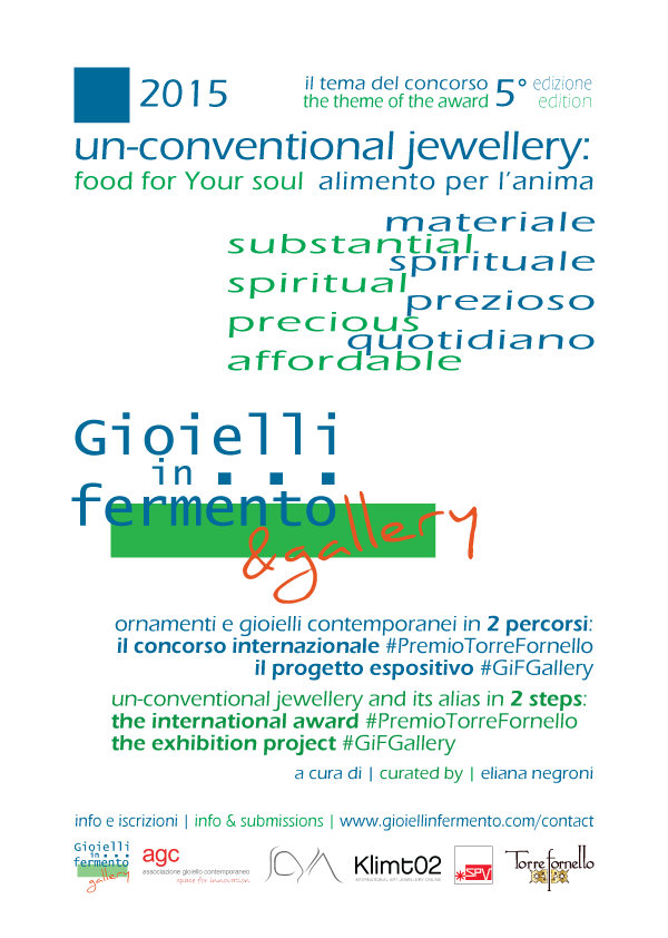Gioielli in Fermento 2015 un-conventional jewellery
