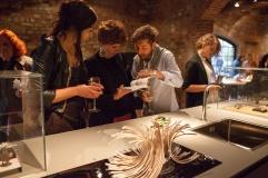 Gioielli in Fermento 2015_Sale delle Scuderie di Torre Fornello_Allestimento4