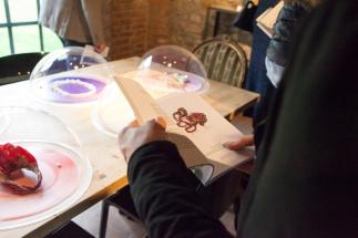 Gioielli in Fermento 2015_Sale delle Scuderie di Torre Fornello_Allestimento3