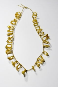 "Liana Pattihis, ""33Rings"" from ""Offerings-Tamata"", collana, necklace"