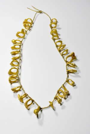 "Liana Pattihis, ""33Rings"" from ""Offerings-Tamata"", collana, necklace - coll 2015"
