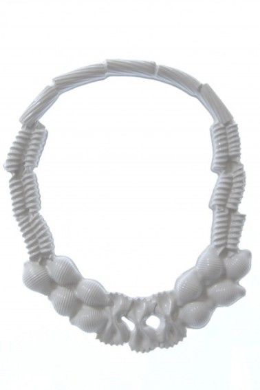 Isabelle Busnel, Pasta necklace, collana -   2015