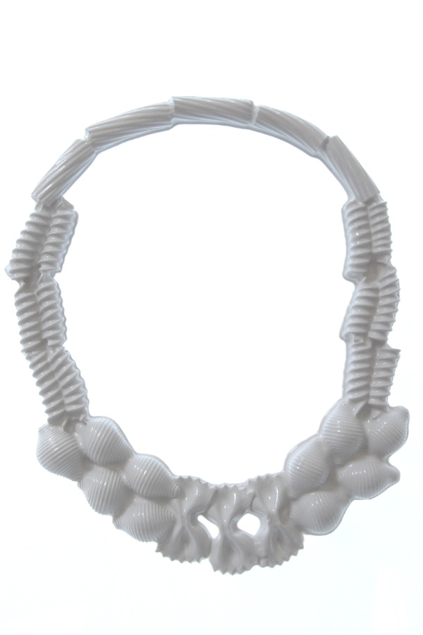 Isabelle Busnel, Pasta necklace, collana - coll 2015