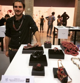 Sébastien Carré, Premio Torre Fornello 2015 wins his participation at JOYA Art Jewellery Fair Barcelona 2015 Gioielli in Fermento