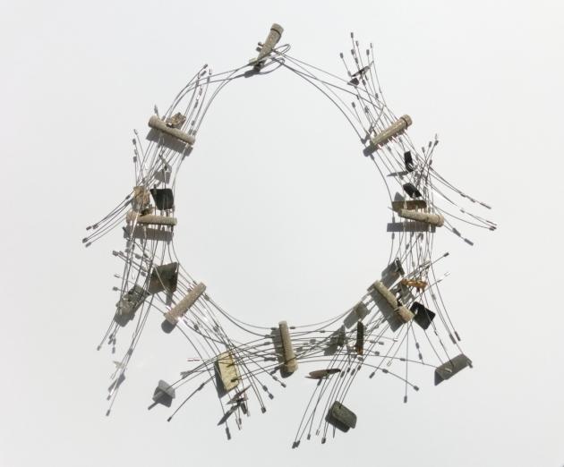 Maria Rosa Franzin, 2012, necklace, Fermenti