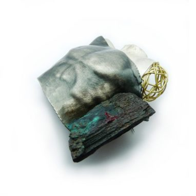 The whisper of the storm, brooch, Gioielli in Fermento 2016 selected work