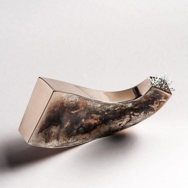 Stenia Scarselli, Lightwave, brooch