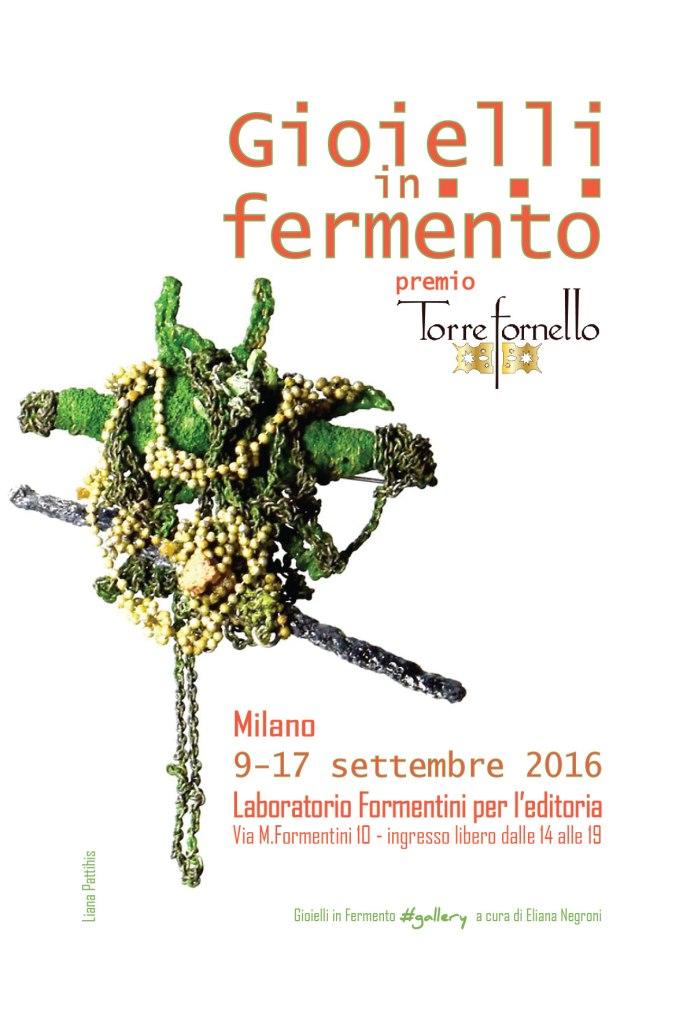 Gioielli in Fermento 2016 al Laboratorio Formentini per l'editoria Milano