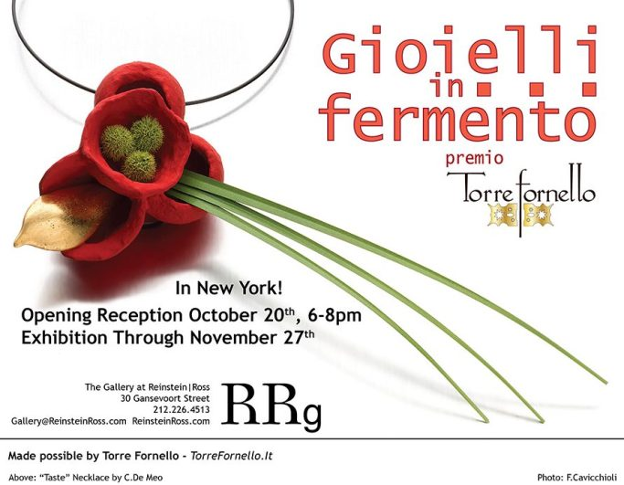 Gioielli in Fermento a New York