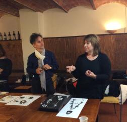Stefano Rossi and Liana Pattihis speaking