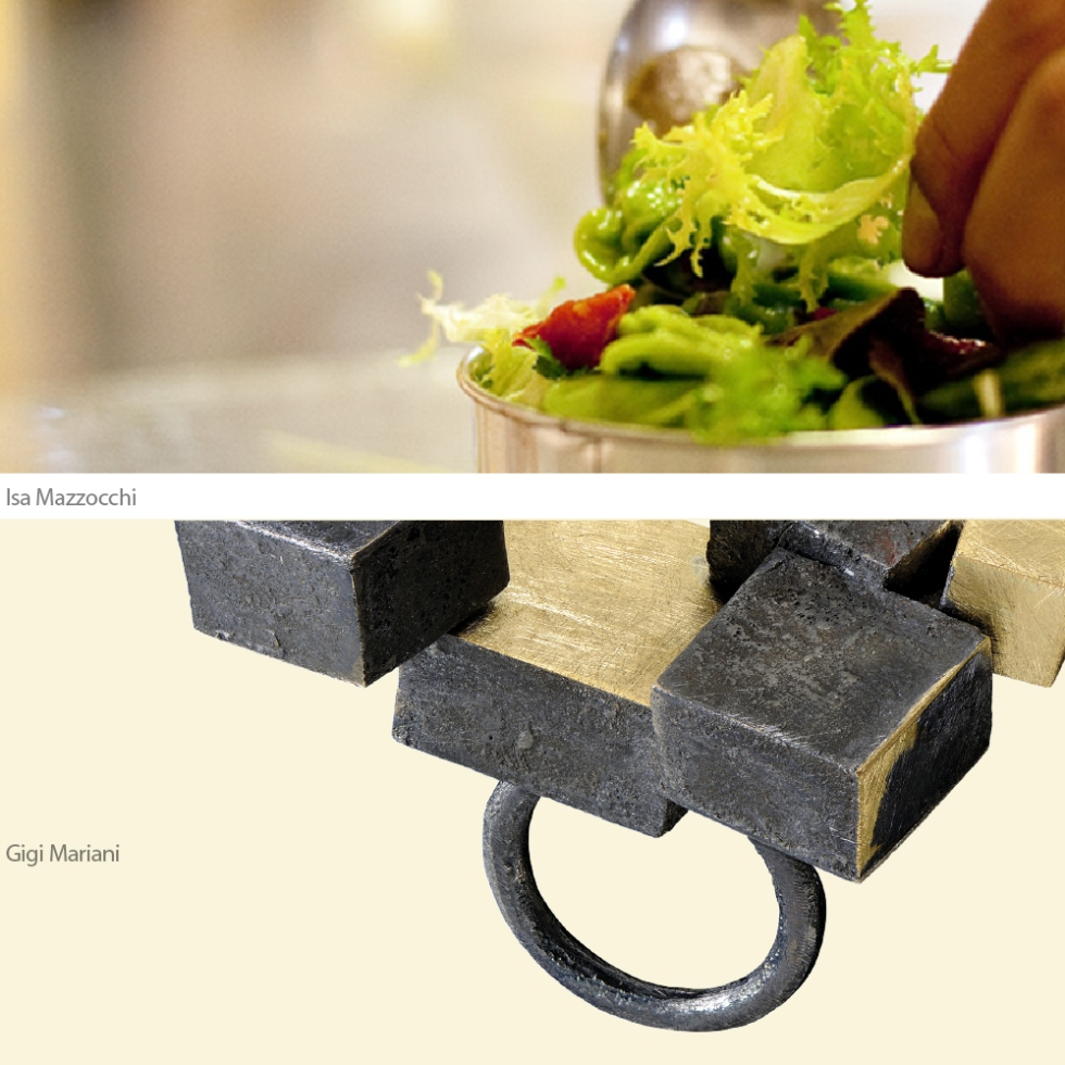 Gioielli in Fermento THE DINNER a Torre Fornello con Isa Mazzocchi Gigi Mariani a cura di Eliana Negroni