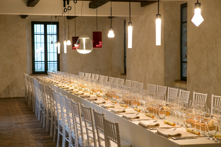 Gioielli in Fermento The Dinner 2017 a Torre Fornello