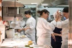 Grande cucina di Isa Mazzocchi e la sua brigata