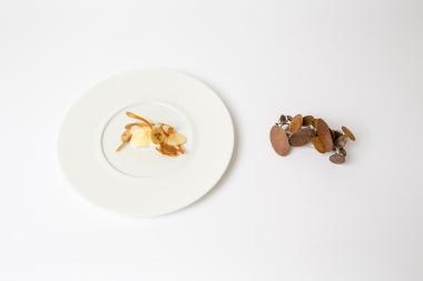 La sorpresa dello Chef ispirata a Shagreen, spilla di Rachael Colley