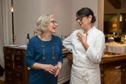 Eliana Negroni con Isa Mazzocchi, soddisfatte!