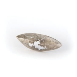 Yasuko Kanno JP, Shape of the moment, spilla/brooch, silver, steel - Premio Gioielli in Fermento 2019 Allied Award