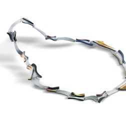 Stefano Fronza, Hypertext link, collana, necklace, 2020